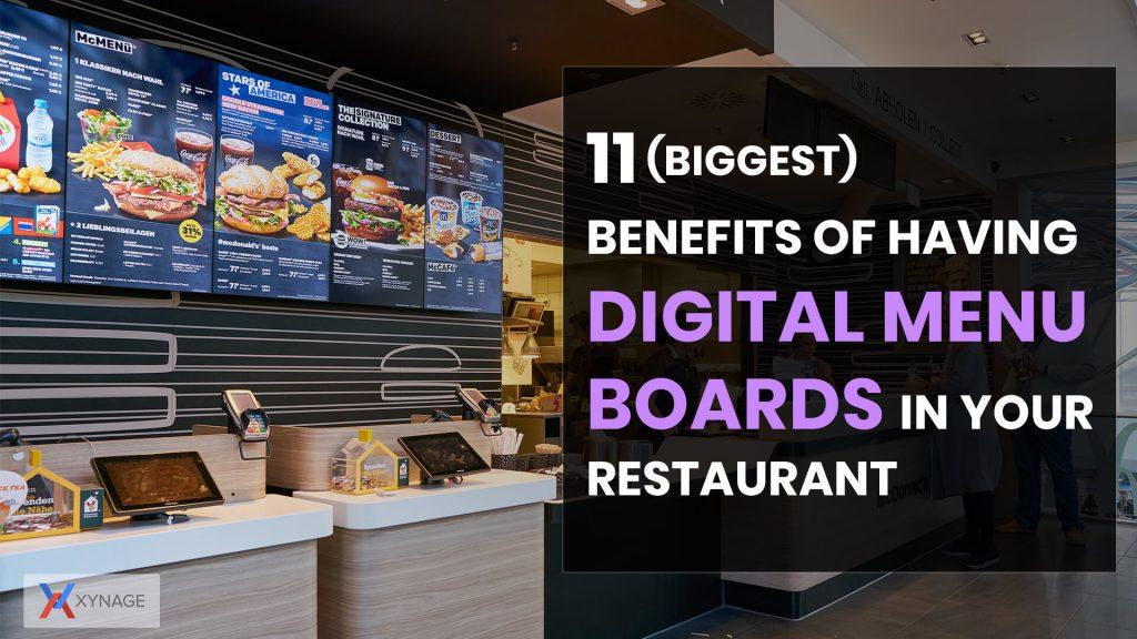 digital signage boards