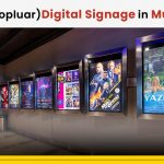 digital signage in multiplex