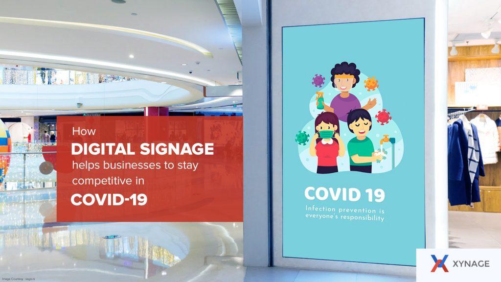 Digital Signage helps businesses