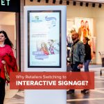 Retailers Switching to Interactive Signage